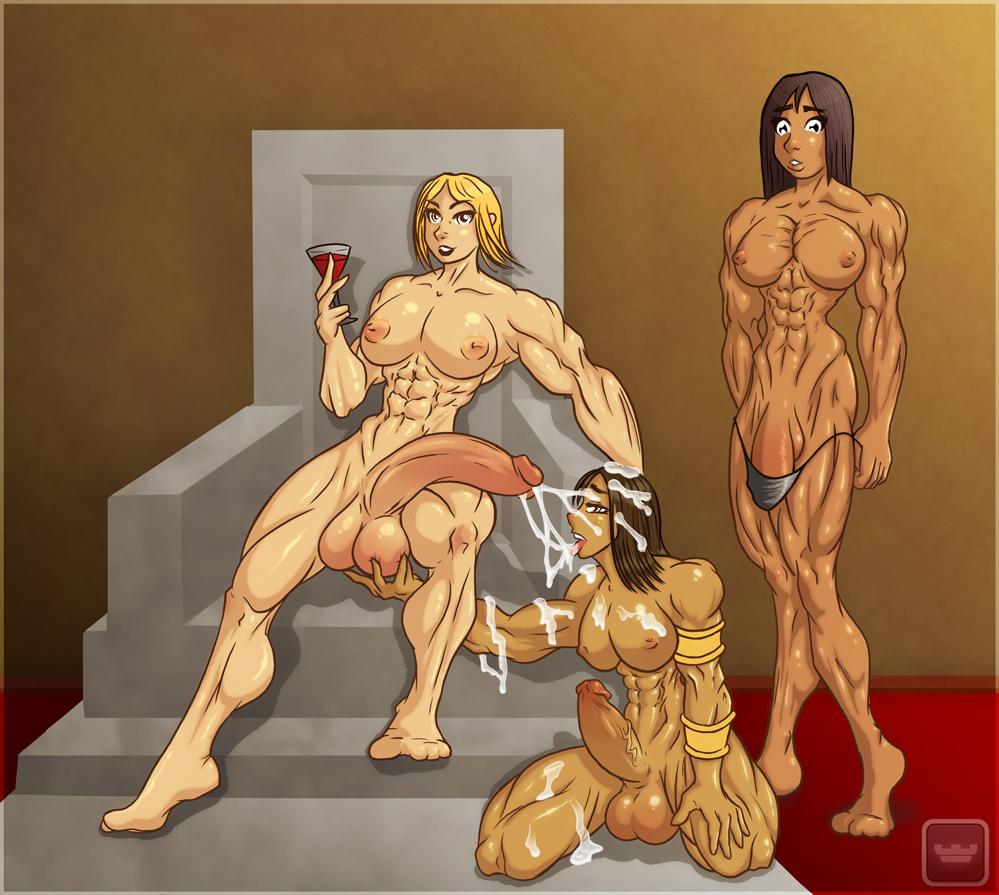 futanari muscle hentai