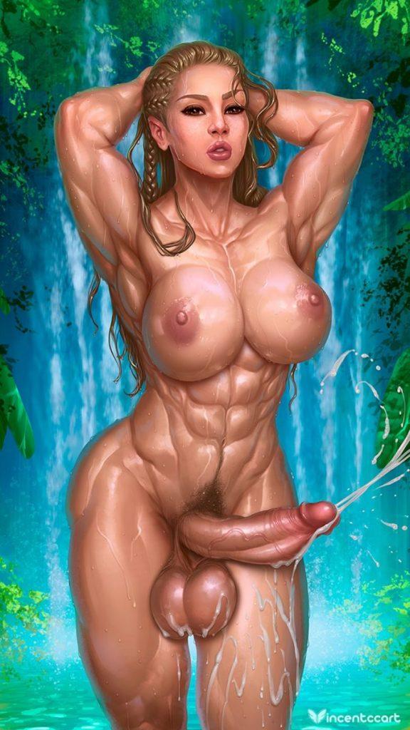 futanari muscle hentai porn